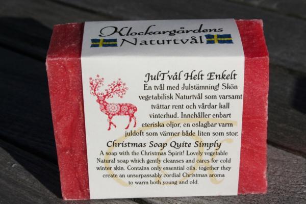 Klockargårdens Jultvål - Naturtvål - Tvålshoppen.se
