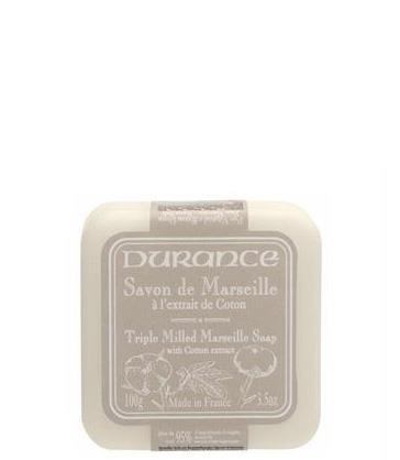 Durance Triple Milled Marseille - Bomullsblomma - Tvålshoppen.se
