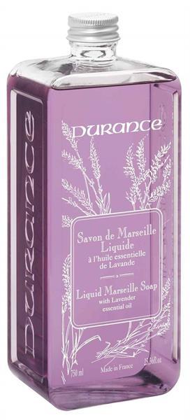 Durance Flytande Marseilletvål Refill Lavendel 750 ml - Tvålshoppen.se