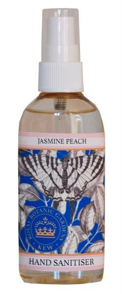 KEW Gardens Hand Sanitiser - Handsprit 100ml - Jasmine Peach - Tvålshoppen.se