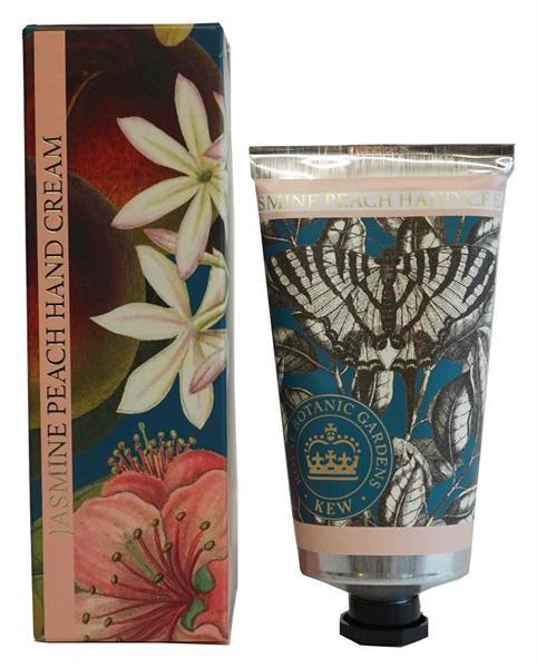 KEW Gardens Handkräm - Jasmine Peach - Tvålshoppen.se