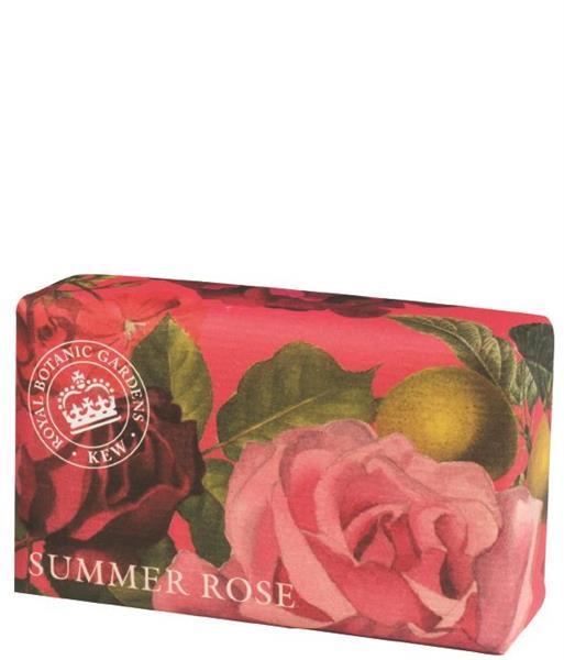 KEW Gardens Handtvål 240 g - Summer Rose - Tvålshoppen.se