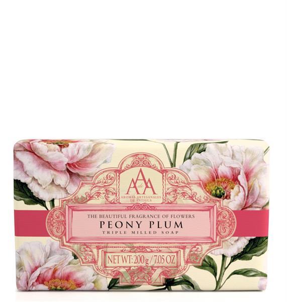 AAA-line Peony Plum Soap 150 g - Tvålshoppen.se