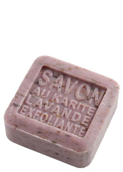 Panier des Sens Savon au Karité - Exfolierande Lavendel - Tvålshoppen.se