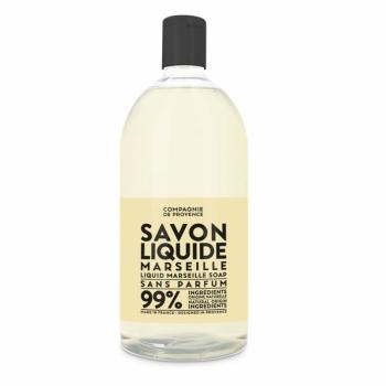 Compagnie de Provance BASTIDE Flytande savon de marseilletvål 1000 ML Doftfri - Tvålshoppen.se